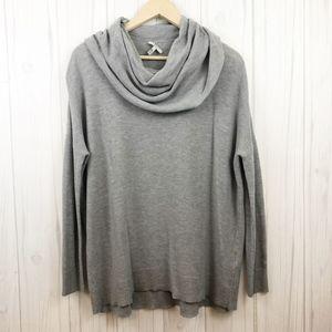 Joie Melantha Loose Cowl Neck Sweater Gray M